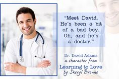 Dr David Adams is Learning to Love!
