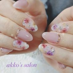 A legdivatosabb körömminták, amelyek mindenkit elbűvölnek! Cute Nails, Pretty Nails, My Nails, Flower Nail Designs, Nail Art Designs, Nailed It, Kawaii Nails, Japanese Nails, Nagel Gel