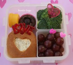 Valentines Hearts Bento Lunch