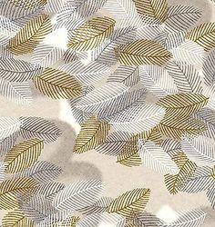 JaponskaZahrada / Handmade art papier - Zlaté pieročka