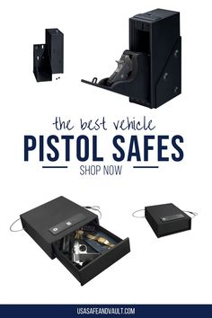 Find the best pistol safes! Are you looking for a pistol safe for your home or vehicle? Safe pistol storage is very important for everyone's safety. Hidden in your vehicle or home, you should always have a pistol safe. Here we found great tips and ideas car and truck pistol safes. Our customers love the quick access pistol safes! You can also add a pistol safe to your bedside or under bed. Biometric pistol safes use fingerprint technology to add a level of safety to you and your family. Fingerprint Technology, Small Safe, Safe Company, Vault Doors, Best Safes, Door Alarms, Safe Shop, Lock Up, Safe Storage