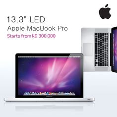 Apple MacBook Pro - Starts form KD 300 Only. Check out MacBook Pro features, specifications and more at wantITbuyIT.com
