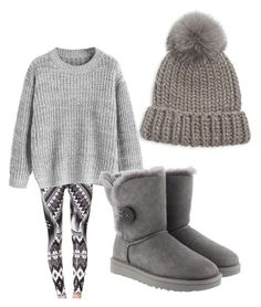 """Winter fun"" by brittany-wilkewitz on Polyvore featuring Eugenia Kim and UGG"