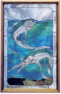 1000 images about stained glass fish on pinterest rainbow trout trout and stained glass patterns. Black Bedroom Furniture Sets. Home Design Ideas