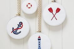 Nautical cross stitch  -OH My, I love this so much!!