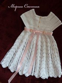 Patrones para hacer vestidos a crochet para nina05