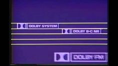 Dolby Laboratories TV Ad 1981 Dolby Noise Reduction...we would never listen to hiss and many things the same way.