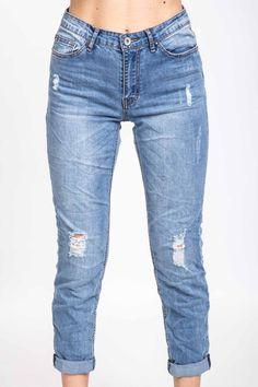 Jeans boy a vita alta