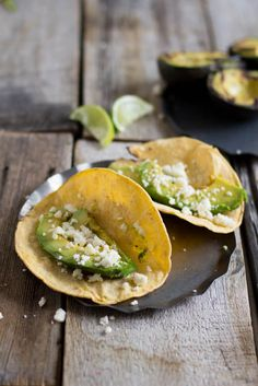 Grilled Avocado tacos, an absolute must this summer!