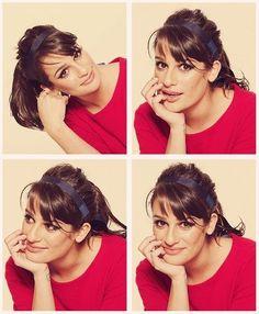 Lea Michele being beautiful.