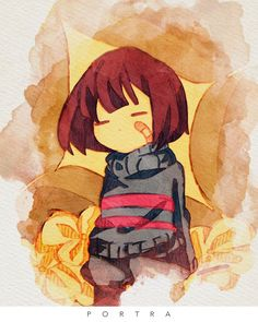 (2) Twitter Anime Undertale, Frisk, Chara, Toby Fox, Rpg Horror Games, Kawaii, Funny Comics, In This World, Bacon