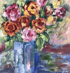 Flowers oilpainting