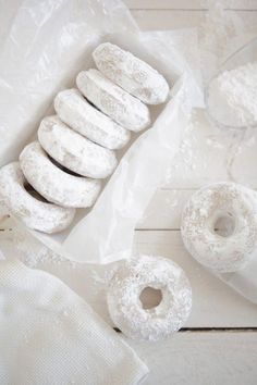 handcrafted in virginia - themodernexchange: Lemon Oat Bourbon Cake Donuts. Brownie Fruit Pizzas, Brownie Toppings, White Tumblr, Bourbon Cake, Powdered Donuts, Powdered Sugar, Doughnut Cake, Doughnut Shop, Black And White