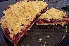 Kirsch - Streuselkuchen (Rezept mit Bild) von Supermaus | Chefkoch.de