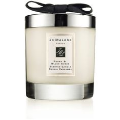 Jo Malone London Peony & Blush Suede Home Candle/7 Oz. (3.695 RUB) ❤ liked on Polyvore featuring home, home decor, candles & candleholders, candles, fillers, gifts, red, red candles, jasmine candle and red rose candle