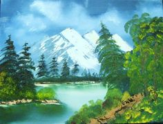 Art Painting Arcylic Landscape Scenic Nature by ALBERTSCRAFTS, $75.00