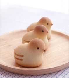 little birds wagashi. Japanese manjyu.