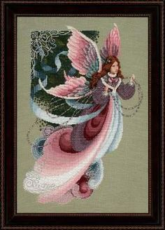 Fairy Dreams by Lavender and Lace - Cross Stitch Kits & Patterns