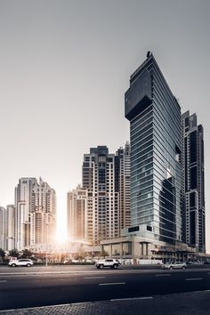 freddie-photography:  Concrete Glass and Steel - Dubai UAE...