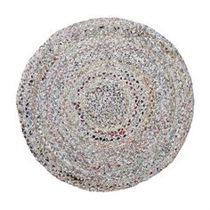 The lovely round rug from Bloomingville is made of pure cotton with a braided pattern in different shades. The rug looks great in a children's room and feels nice and soft under the feet. Match the rug together with other popular items from Bloomingville's mini collection for a complete look! Choose from different colors.
