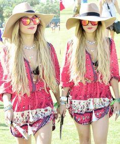 Vanessa Hudgens style @ Coachella 2014
