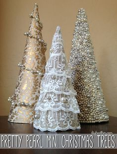 Pretty Pearl Mini Trees | Flickr - Photo Sharing!