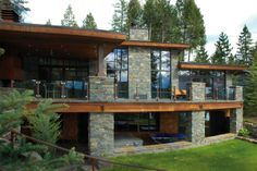 Melhoff Residence, Whitefish Montana, designed by Lyndon Steinmetz Design Studio LLC (most talented husband!)