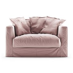 Loveseat in elegant velvet upholstery, a stylish armchair that at the same time offers great comfort thanks to the soft back pillows. Diy Pallet Couch, Beautiful Sofas, Royal Design, Cameo, Love Seat, Upholstery, Furniture, Home Decor, Style