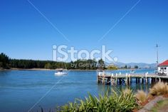 Mapua Wharf, Nelson, NZ Royalty Free Stock Photo Cool Store, South Island, Image Now, New Zealand, Coastal, Royalty Free Stock Photos, Old Things, Magic
