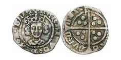 1 Penny Kingdom of England Silver Henry VI (1421-1471)