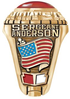 This is the American Patriot Flag which can be put on one side of the ring with your name or date above it. Select another Marine Corps emblem for the opposite side. The ring is available in Gold and Silver. It makes a unique personal gift or a classic gift for a veteran or loved one. Marine Corps Rings, Marine Corps Emblem, Usmc Ring, Us Navy Rings, Graduation Gifts For Guys, United States Navy, Marines, Ring Designs, American Flag