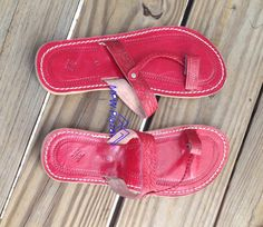 Braided Moroccan Leather Sandals by MPWPlaza on Etsy