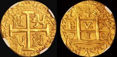 Gold Cobs from The 1715 Fleet & Treasure Cobs from The Florida Coast