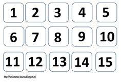 Kindergarten Math, Back To School, Calendar, Classroom, Education, Blog, Class Room, First Day Of School, Entering School