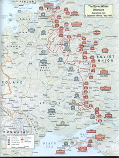 Ww2 german invasion of norway and denmark maps pinterest wwii infographic kaito soviets winter offensive 6 dec 1941 7 may 1942 gumiabroncs Images