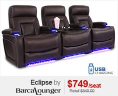 Barcalounger Eclipse Media Room Chair