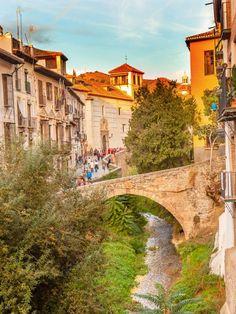 Guía de Granada. Paseo de los tristes. Andalucia Spain, Granada Spain, Spain And Portugal, Spain Travel, Malaga, Next At Home, Landscape Photography, Places To Go, Europe