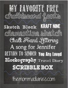 Darlene Nemeth: Make a Chalkboard Printable in Minutes ...