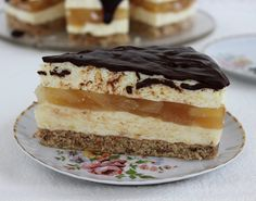 Hungarian Recipes, Fall Desserts, Vanilla Cake, Tiramisu, Mousse, Bakery, Cheesecake, Deserts, Food And Drink