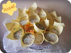 I coni riso delle Grucce di Sara P.