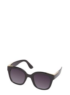 #Dorothy Perkins Womens **Lily  Franc Black Oversize Sunglasses- #Stand out this season with this gorgeous Lily and Franc black oversize sunglasses. 95% Hard Plastic, 5% Metal.