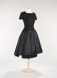 Mainbocher dress ca. 1955