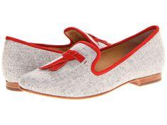 Cole Haan Sabrina Tassel Loafer Light Grey Flannel/Cinnabar Suede - Zappos.com Free Shipping BOTH Ways