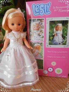 Nancy Doll, Girls Dresses, Flower Girl Dresses, Cinderella, Dolls, Disney Princess, Wedding Dresses, Character, Fashion