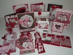 Lizrussell23's Gallery: Valentines Day cards & tags