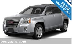 Take a look at this 2015 GMC Terrain with thousands in coupons!! Get Free Coupons Now and Save Money!!