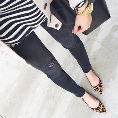 Stripes and leopard will never fail you  @liketoknow.it www.liketk.it/1kmik #liketkit by simplyxauds