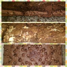 Hershey's Symphony, Coconut & Pecan, Whopper loaded brownies