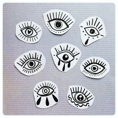"""416 mentions J'aime, 1 commentaires - Tattoo 〰 illustration ✏️ (@lia_november) sur Instagram : """"3 - 4 - 5 - 7 réservés 〰 Parce que vous avez été plusieurs à demander, voici d'autres yeux Pour…"""""""