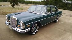 1968 Mercedes-Benz presented as Lot at Houston, TX Mercedes Benz, New Tyres, New Carpet, Automatic Transmission, Old Cars, Auction, Houston Tx, Friends, Google